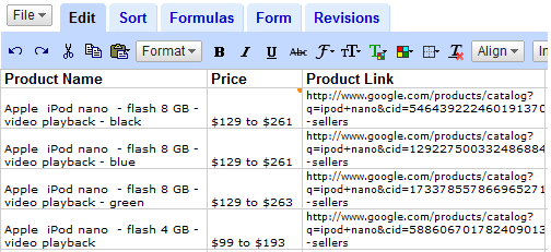 Build a Web Page Monitor with Google Sheets using ImportXML