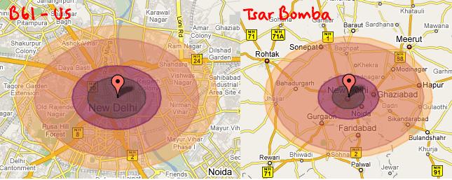 nuclear bomb damage