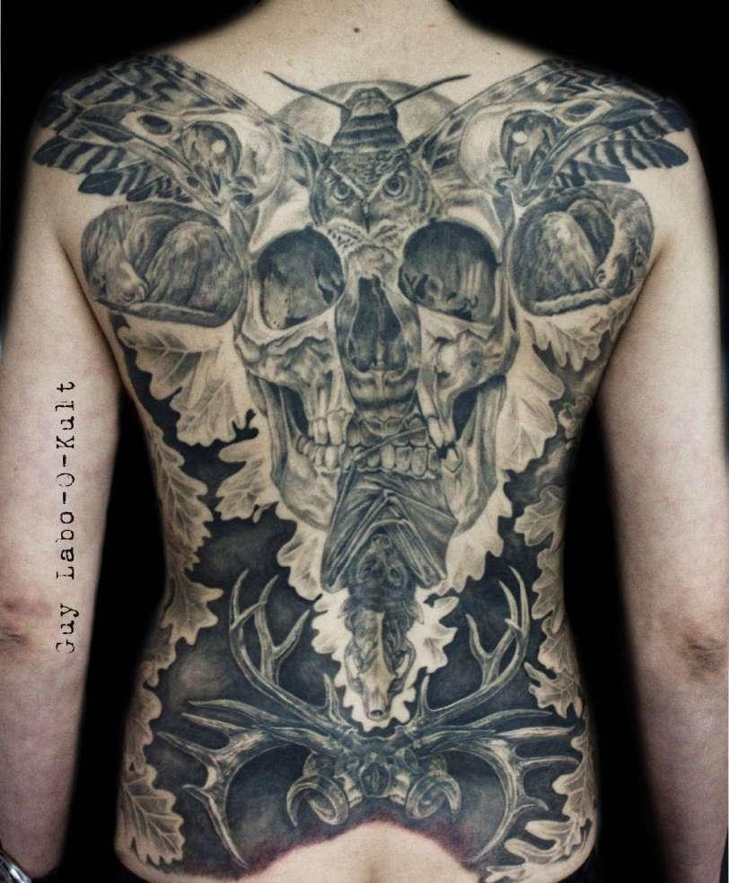 HEALED Backpiece - Cicatrisé - Verheilt