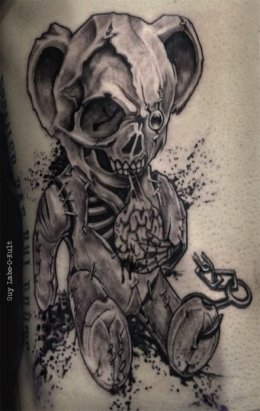 Done at Brussels Internation Tattoo Convention 2014