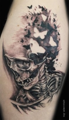 Carpe Diem Skeleton 2014