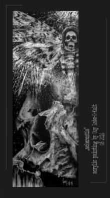 """Acherontia"" - Acrylpainting by Guy Labo-O-Kult"