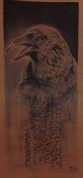 """Collaboration """"Raven"""" Ka & Guy – Calligraphy & Charcoal"""