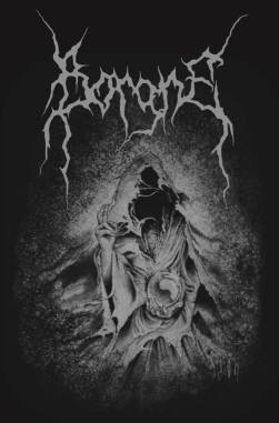 """Design for a hoodie of swiss black metal band """"Borgne"""" by Guy Labo-O-Kult"""
