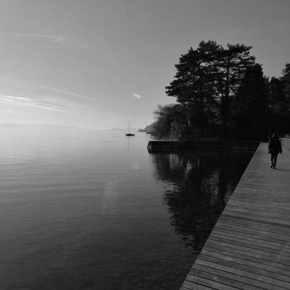 Lake of Bienne by Ka L-O-K