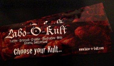 Creation of Labo-O-Kult Sticker 2009