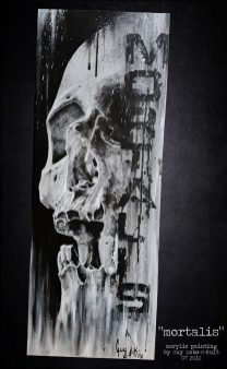 """Mortalis"" - Acrylpainting by Guy Labo-O-Kult"