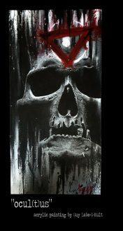 """Ocul(t)us"" - Acrylpainting by Guy Labo-O-Kult"