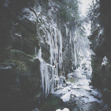 Icy Taubenlochschlucht by Ka L-O-K