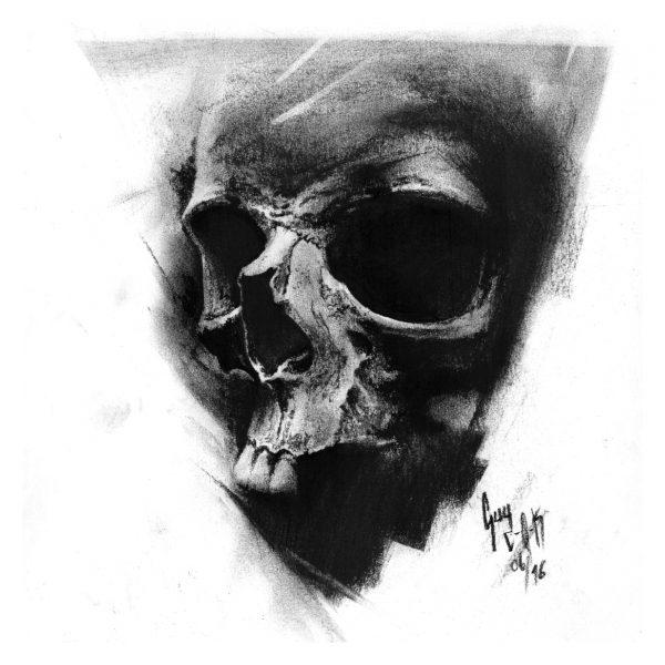 "Charcoal Drawing ""Veritas"" by Guy Labo-O-Kult"
