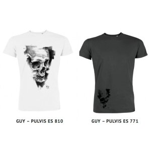 T-Shirt Pulvis Es by Guy Labo-O-Kult in collaboration with nopas.ch