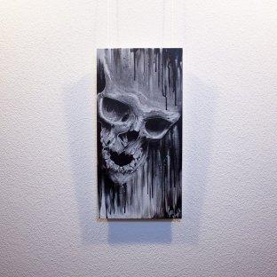 """Mortuus"" - Originalbild ""Mortuus"" von Guy Labo-O-Kult, Acrylgemälde auf Leinwandkarton"