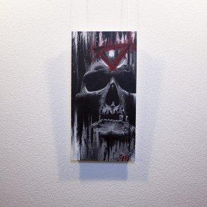"""""""Ocul(t)us"""" - Oeuvre original de Guy Labo-O-Kult, peinture acrylique"""