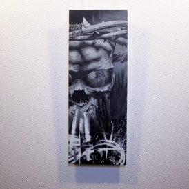 """Resurgere"" - Original Artwork by Guy Labo-O-Kult (Acrylic on Canvas board)"