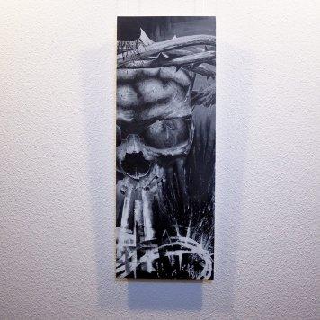 """Resurgere"" - Originalbild von Guy Labo-O-Kult - Acryl auf Leinwandboard"