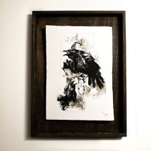 """Corvus Corvus"" – HelvEdition by Ka L-O-K 