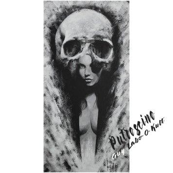 "Acrylpainting ""Putrescine"" by Guy Labo-O-Kult"