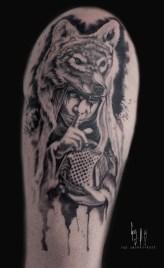 Psst - Tattoo done during Mondial de Tatouage 2018, in Paris, France