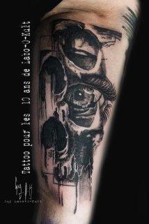 Wanna Do de Guy Labo-O-Kult - tatoué pour les 10 ans de Labo-O-Kult