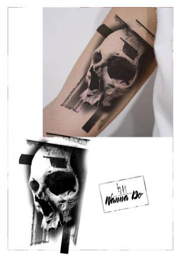 """Mock up Wanna Do """"Skull #20180120"""" - Guy Labo-O-Kult"""