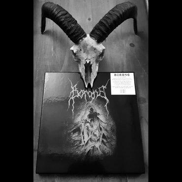 "Album Cover ""Borgne"" Triple Vinyl Set – Artwork done by Guy Labo-O-Kult"