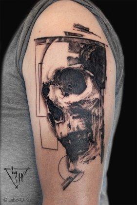 "Wanna Do Design ""Skull O Mine"", by Guy Labo-O-Kult"