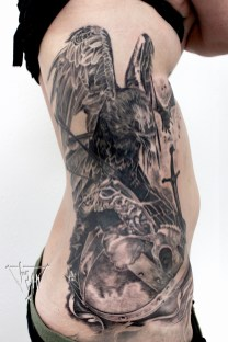 Guy Labo-O-Kult   Crow on battlefield