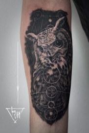 Hibou - Eagle Owl - Uhu | Guy Labo-O-Kult
