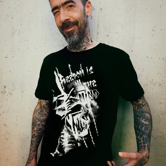 """""""Freedom is in the mind"""" 