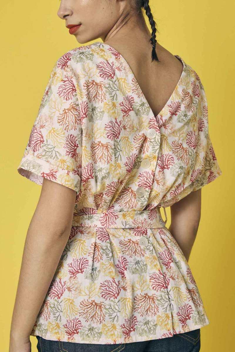 blusa de algodon marca La Bocoque