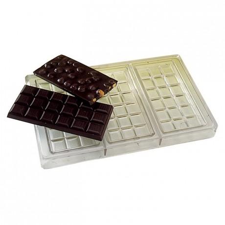 Matfer Moule 3 Tablettes 100 G En Polycarbonate Pour