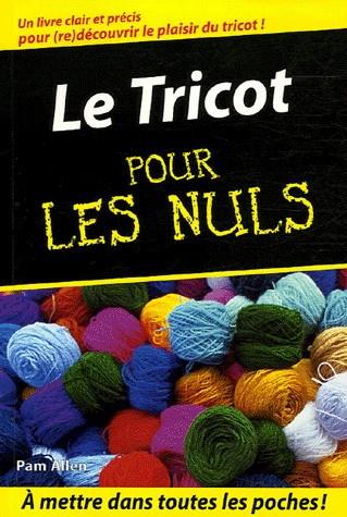 Livres pour apprendre le tricot pour les nuls