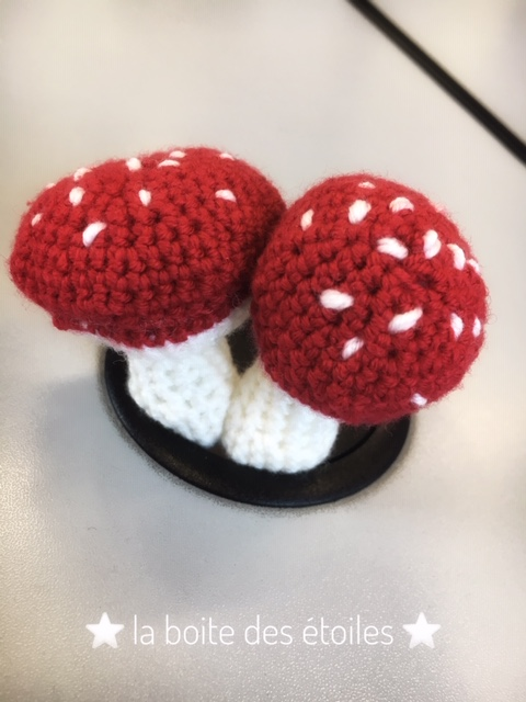 Mushrooms Amigurumi'