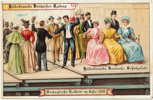 carte postale 2000 futur 02 En 1900, des cartes postales imaginent lan 2000