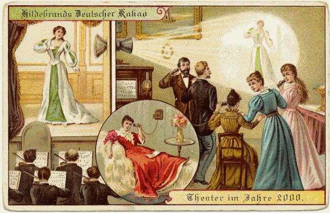carte postale 2000 futur 04 En 1900, des cartes postales imaginent lan 2000