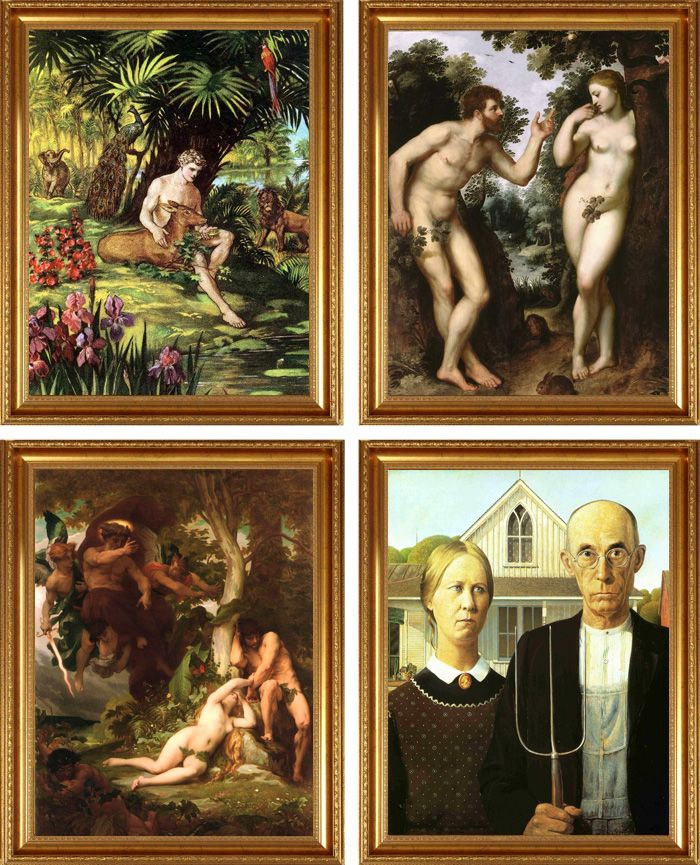avant apres peinture explique 10 L'avant et l'après de peintures connues