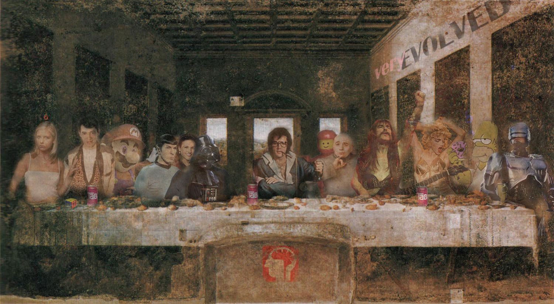 parodie cene scene leonard de vinci 22 34 parodies de la Cène de Léonard De Vinci