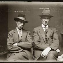 Des portraits de criminels australiens dans les années 1920