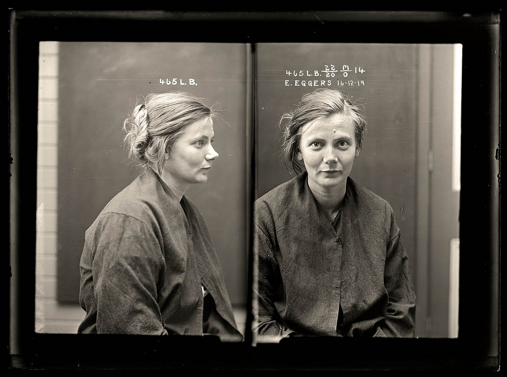 Australian mugshots from the 1920's