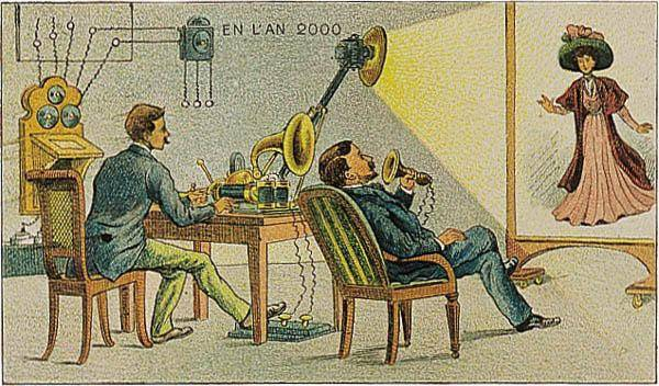 anticipation retrofutur 1910 imagination 2000 12 Lan 2000 imaginé en 1910