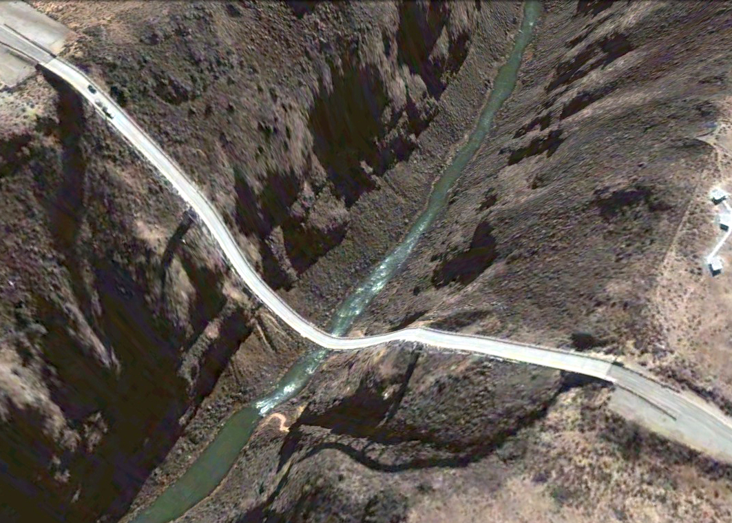 pont route google earth altitude relief 3d 12 Les ponts de Google Earth