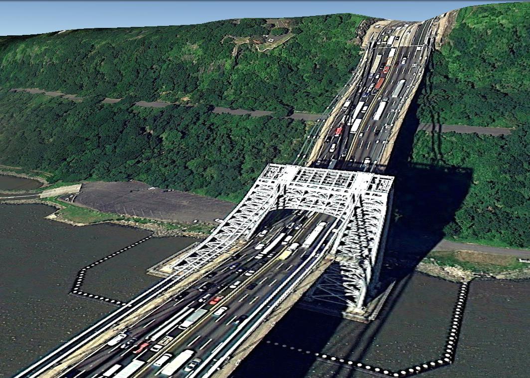 pont route google earth altitude relief 3d 15 Les ponts de Google Earth