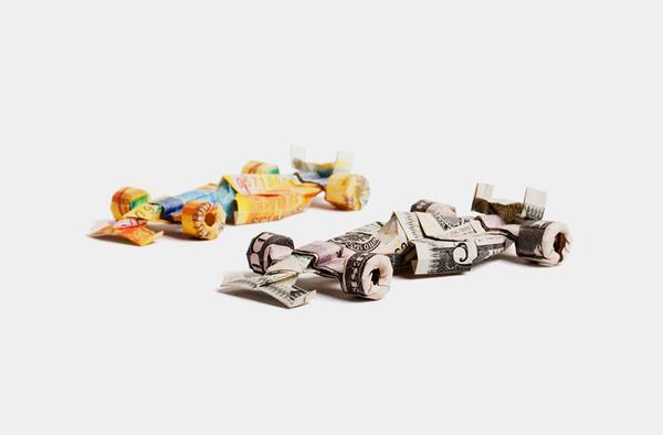 origami billet banque 03 Origamis en billets