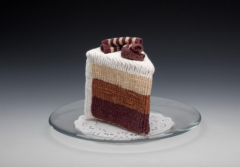 gateau nourriture aliment laine tricot 04 De la nourriture tricotée