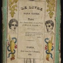 Le Livre Sans Titre, 1830 - Les dangers de la masturbation