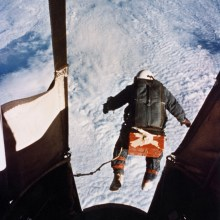 Joe Kittinger : 31km de chute à la vitesse du son