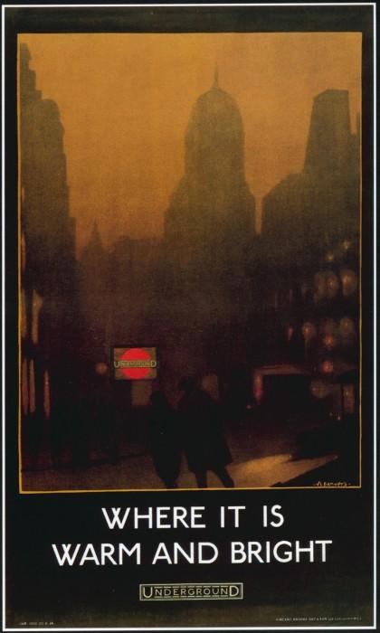 londres london metro undergroud affiche poster 28 420x700 150 ans daffiches du métro de Londres  histoire design bonus art