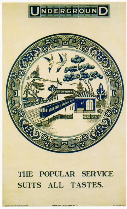 londres london metro undergroud affiche poster 32 425x700 150 ans daffiches du métro de Londres  histoire design bonus art