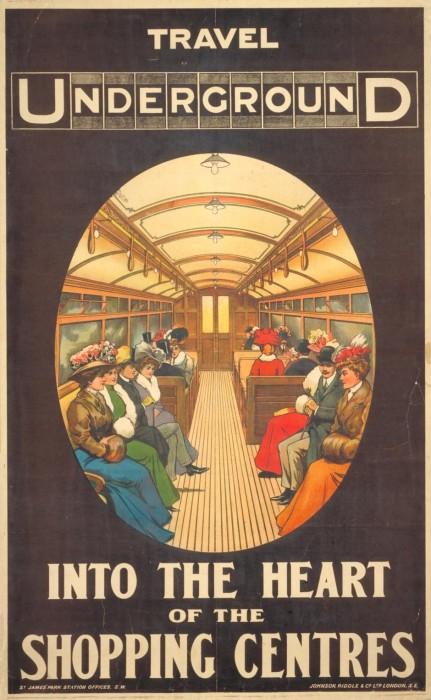 londres london metro undergroud affiche poster 36 431x700 150 ans daffiches du métro de Londres  histoire design bonus art