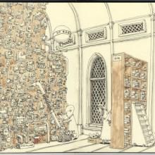 Les carnets de croquis de Mattias Adolfsson
